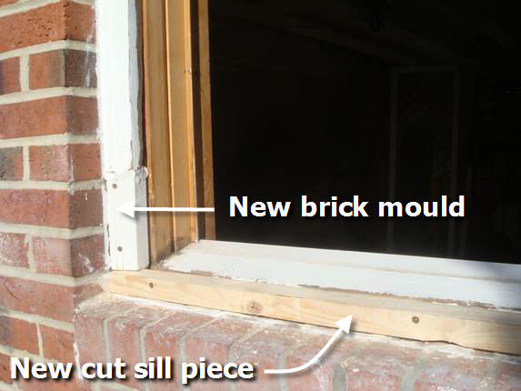 brick moulding for windows pictures to pin on pinterest