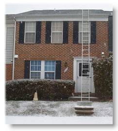 Md Roofing in Winter