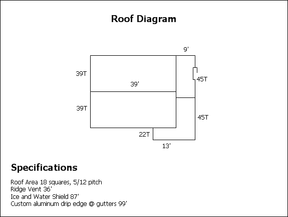 Columbia Md Roof Diagram