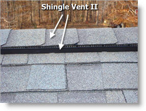 Shingle Vent System Upgrade