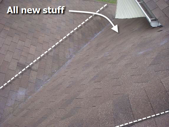 Certainteed XT25 Oakwood Shingles