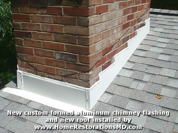 Md Chimney Flashing Chimney Cap Md Roof Flashing